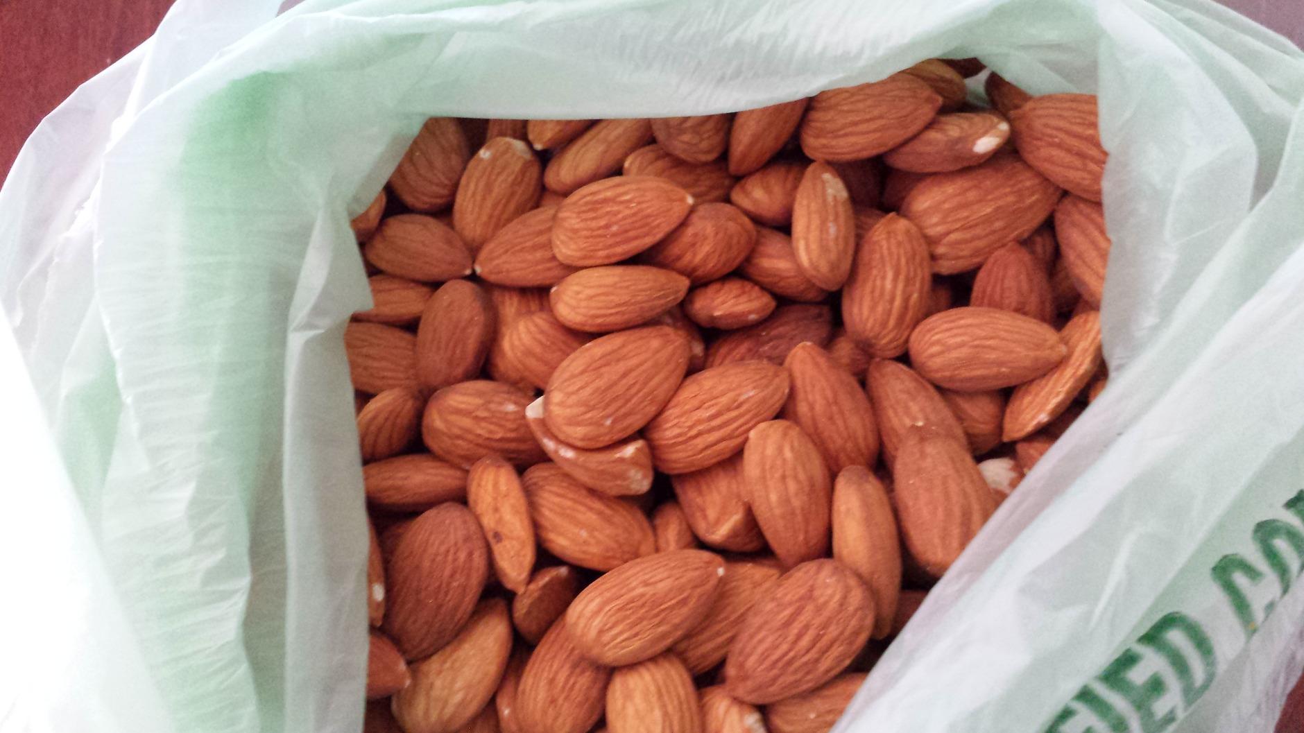 almonds cooler (WTOP/Colleen Kelleher)