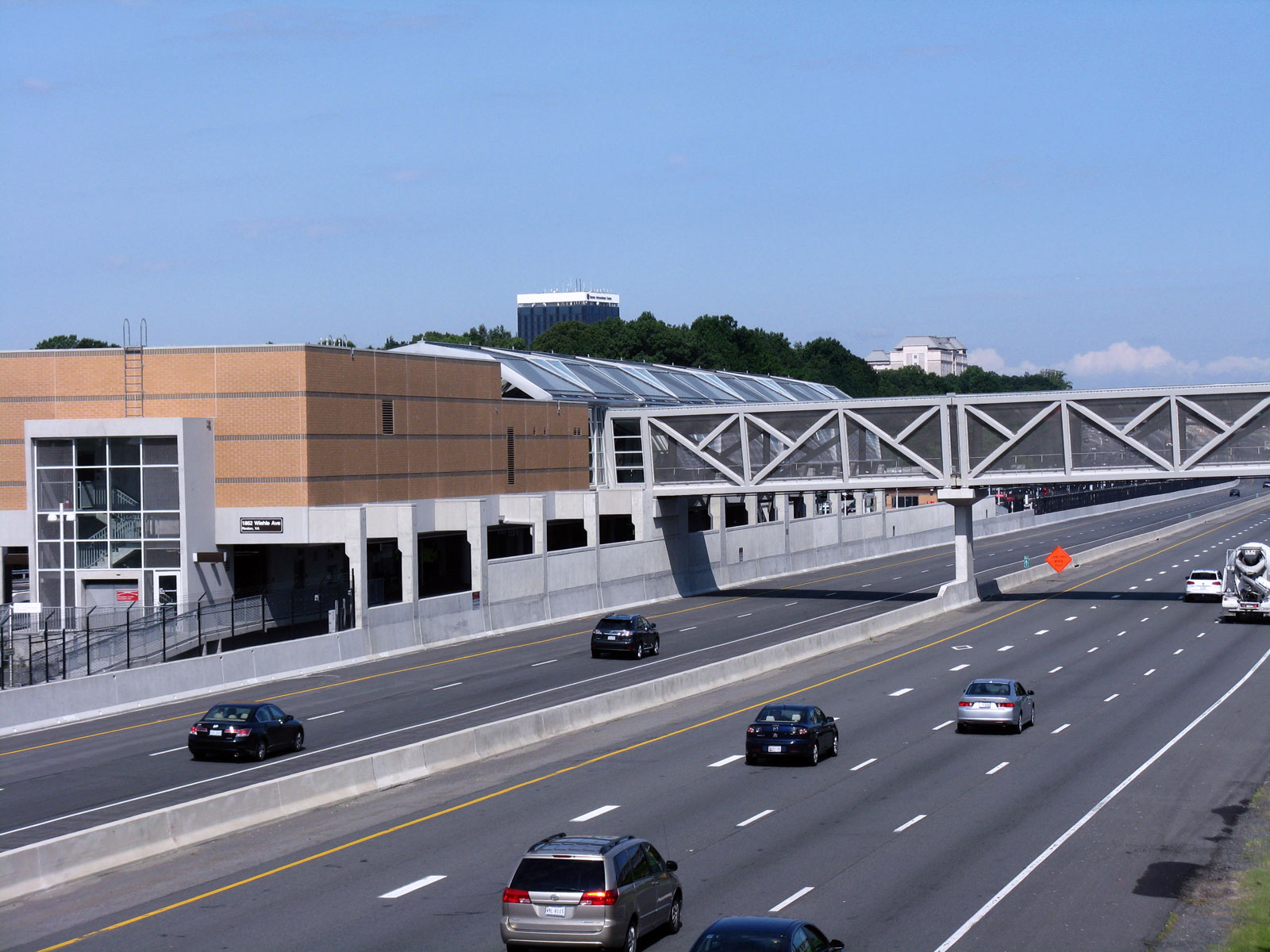 At Metro's Wiehle-Reston East station, weekend parking will stay free