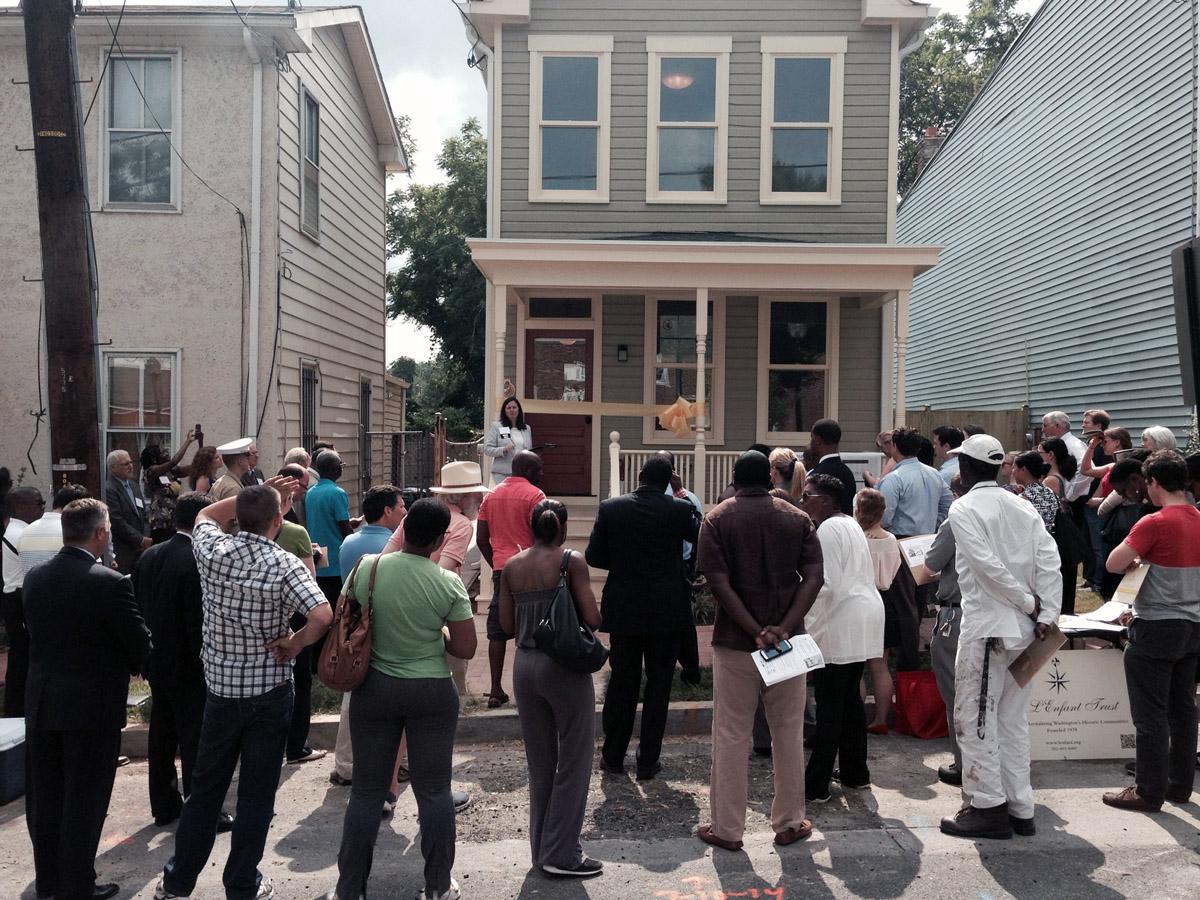 L'Enfant Trust completes first restoration project; former drug house ready for residents