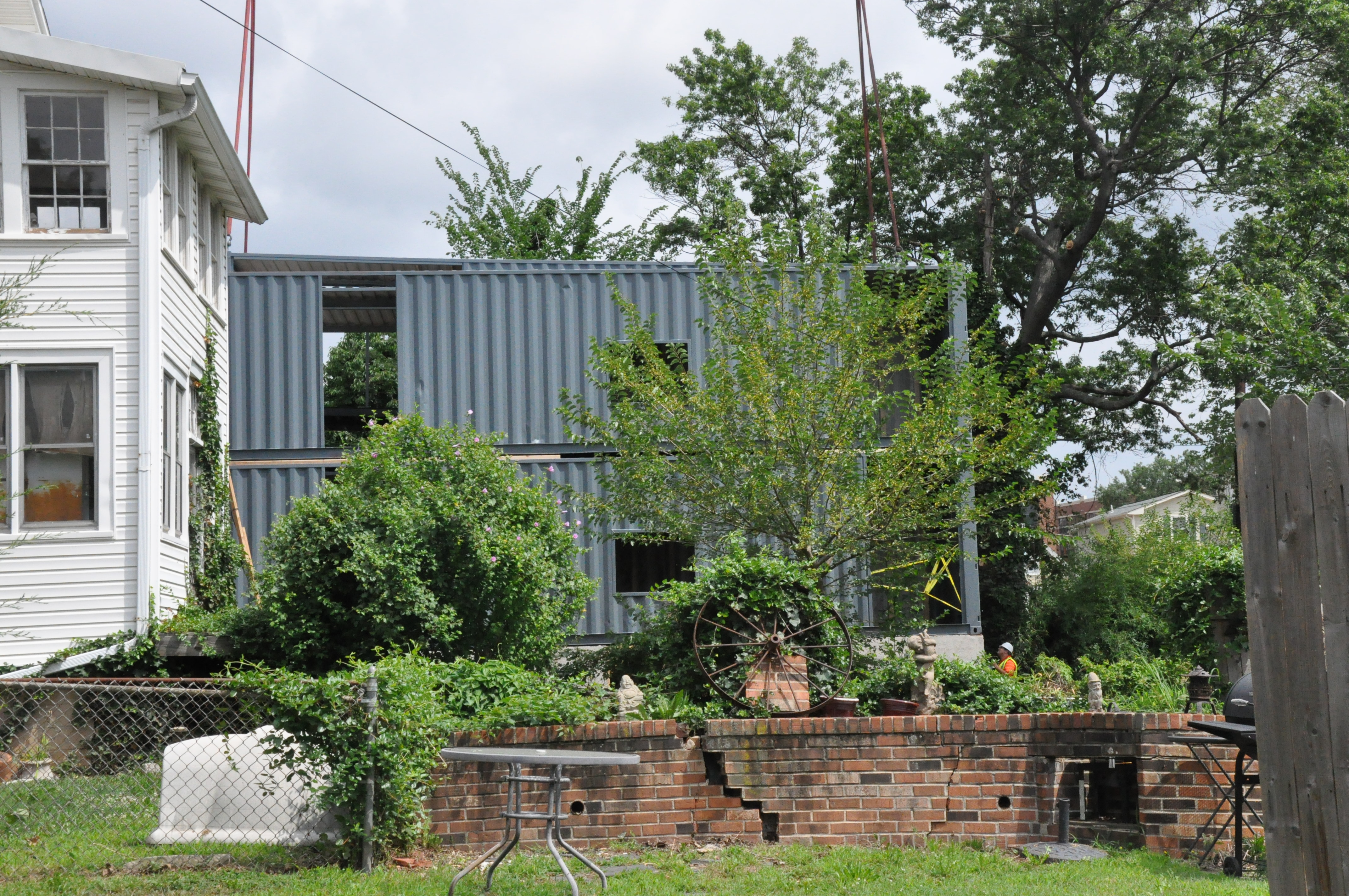 Virginia city's housing agency gets shipping container homes