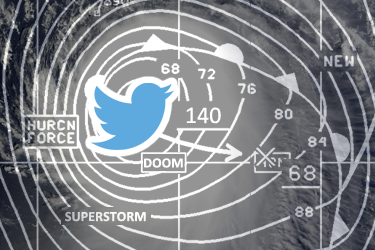 Real forecasts lost in social media flurry