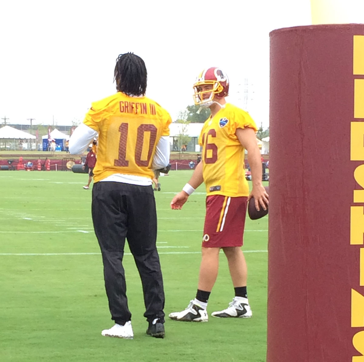 Redskins Training Camp blog: Rain wins on day 1