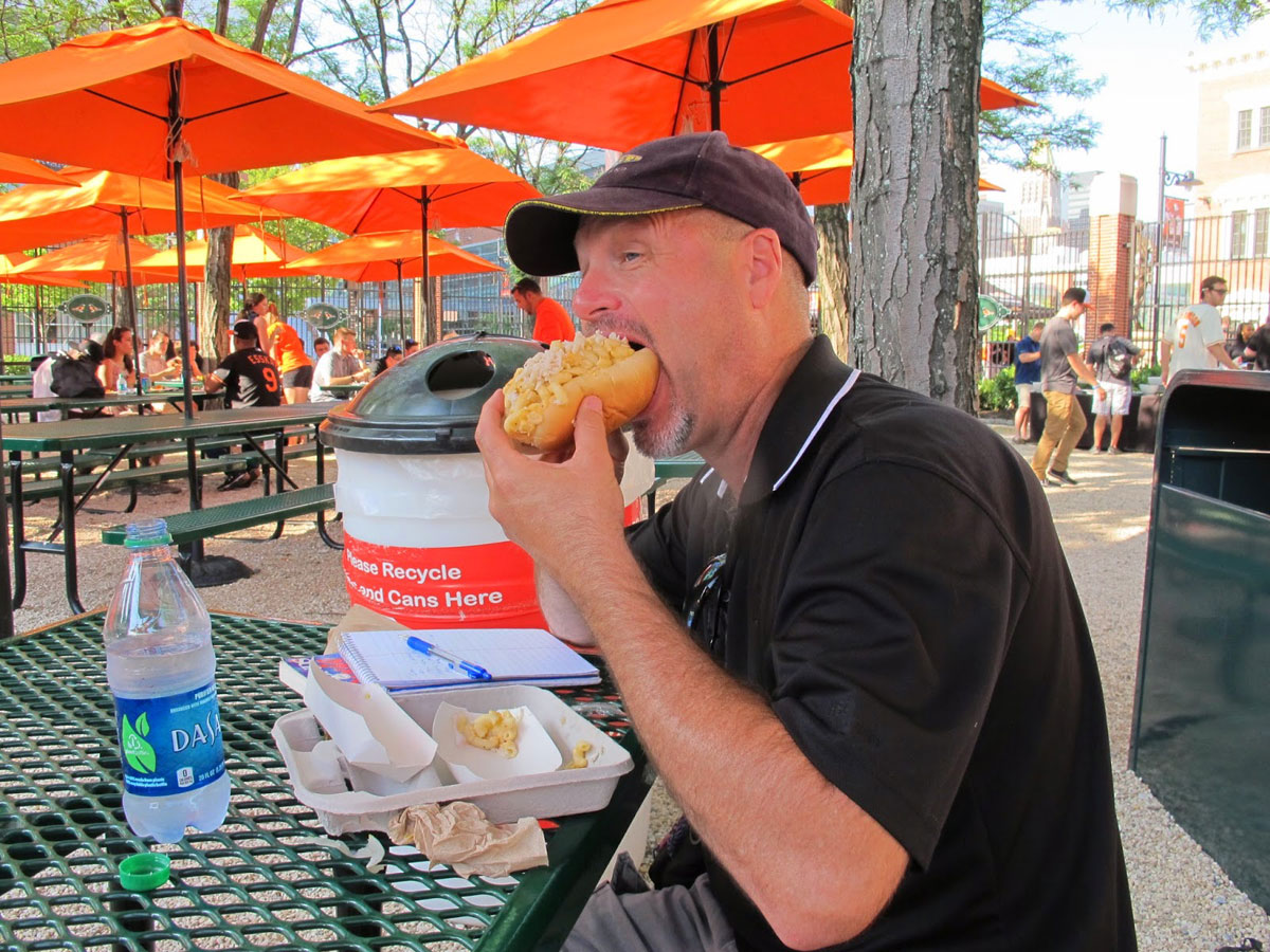 Tom Lohr's adventure: A hot dog at every MLB park