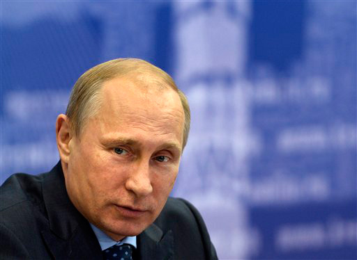 Putin warned about playing with fire