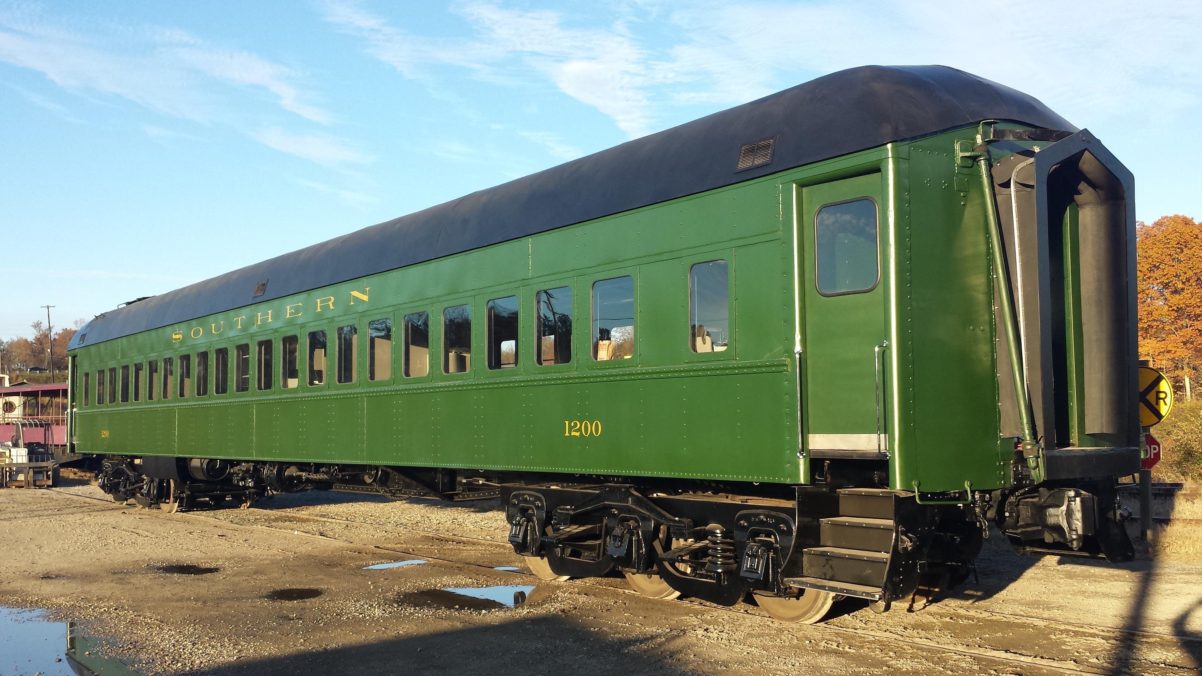railway car (Courtesy Smithsonian Institution)