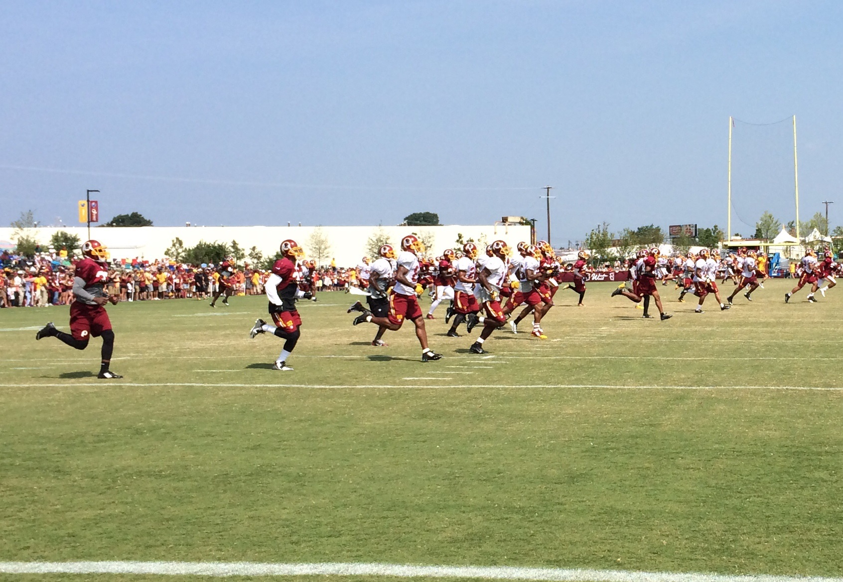 Early finish on day 7 of Redskins Camp