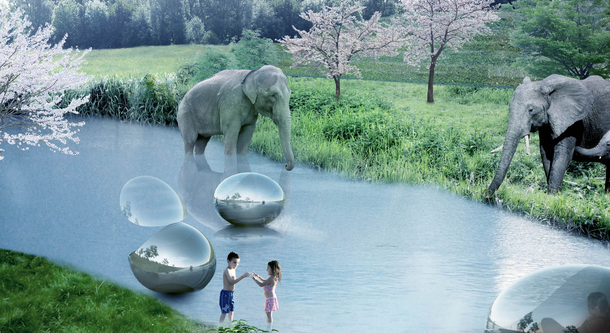 Get a sneak peek at the zoo of the future (Photos)