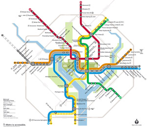 How does D.C.'s Metro system stack up?