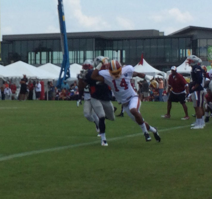 Reps prove valuable at Redskins Camp