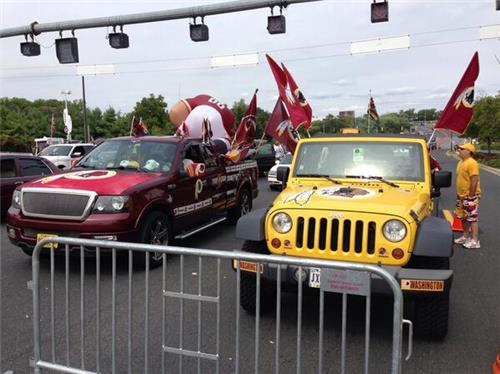 What you can get for the cost of Redskins premium parking