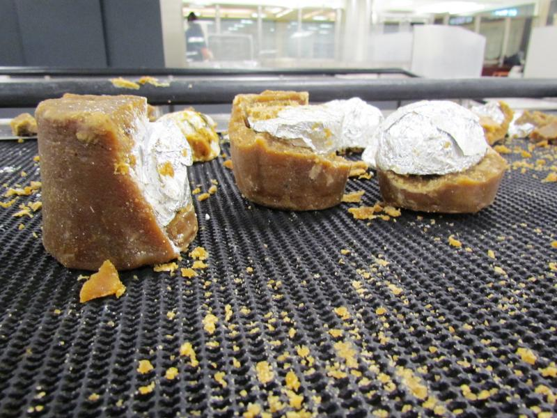 Cocaine caramels seized at Dulles Airport