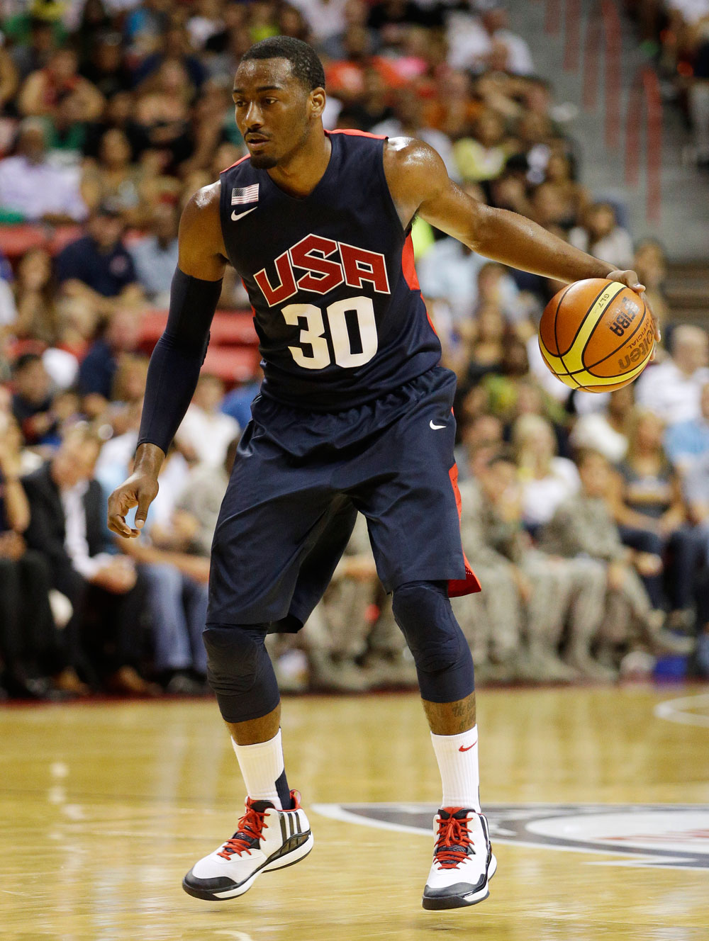 Wizards star Wall discusses charity, Team USA