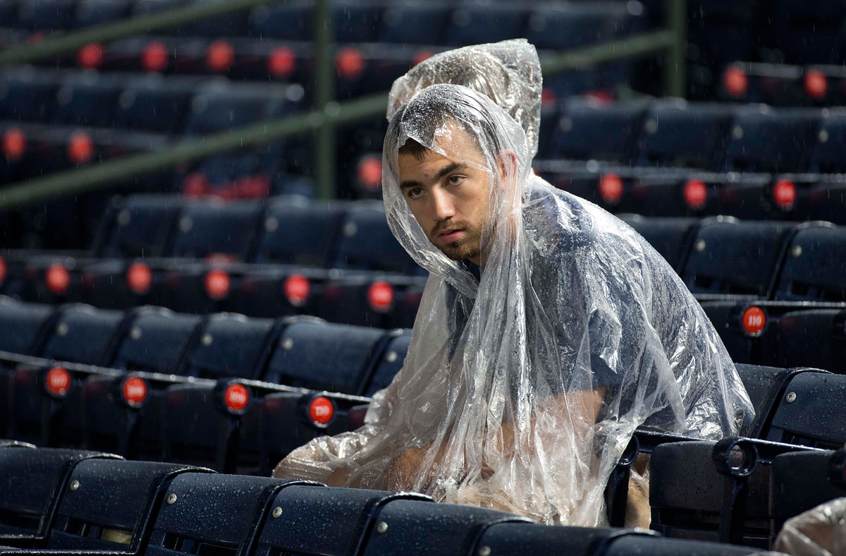 Covering the Bases: Nats and the rain