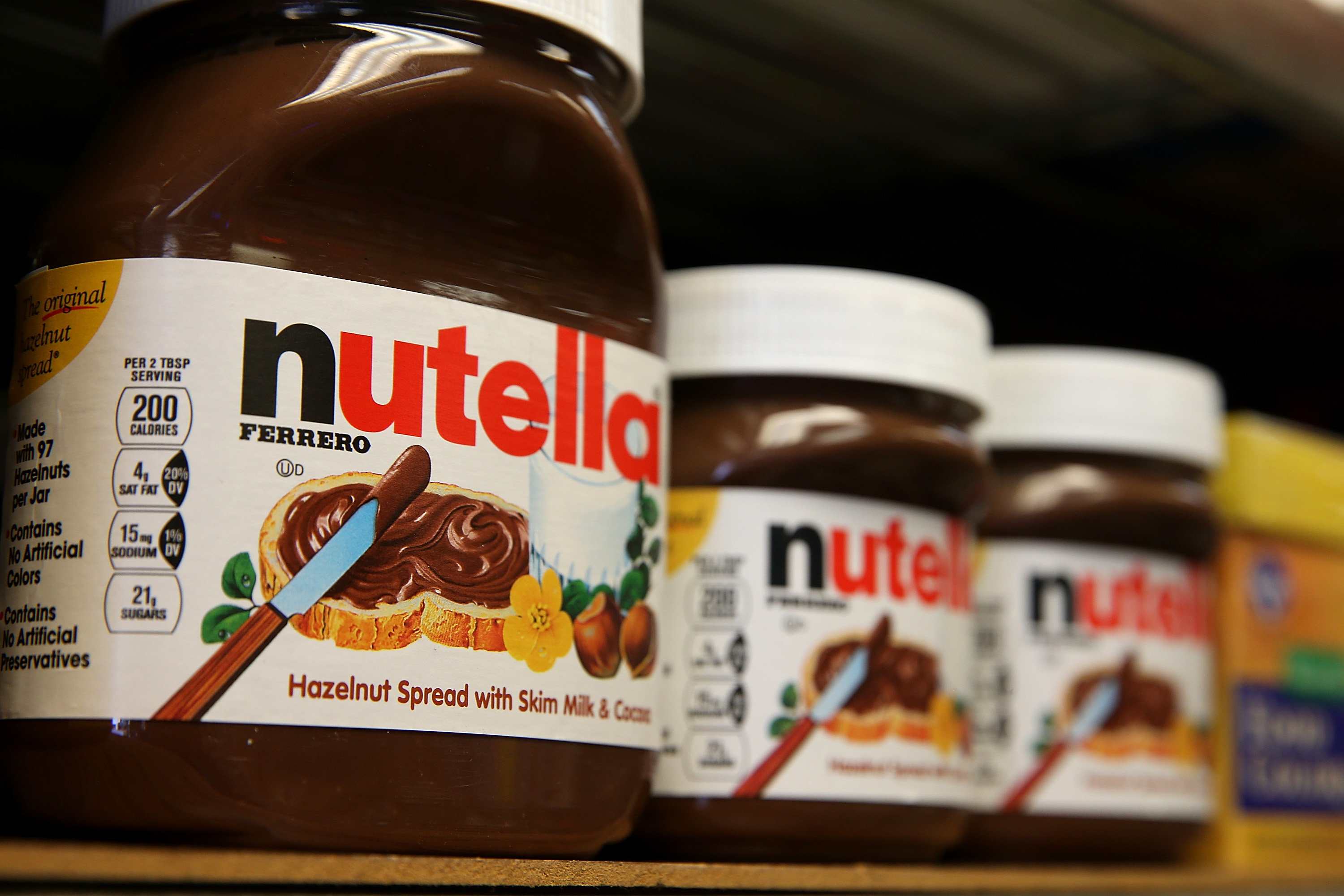 Hazelnut shortage could push Nutella prices higher