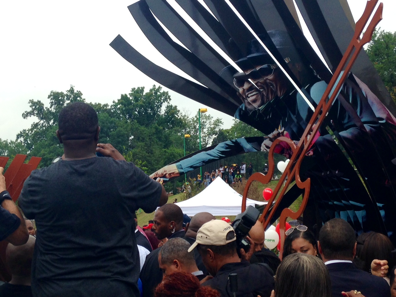 D.C. leaders unveil Chuck Brown Memorial Park
