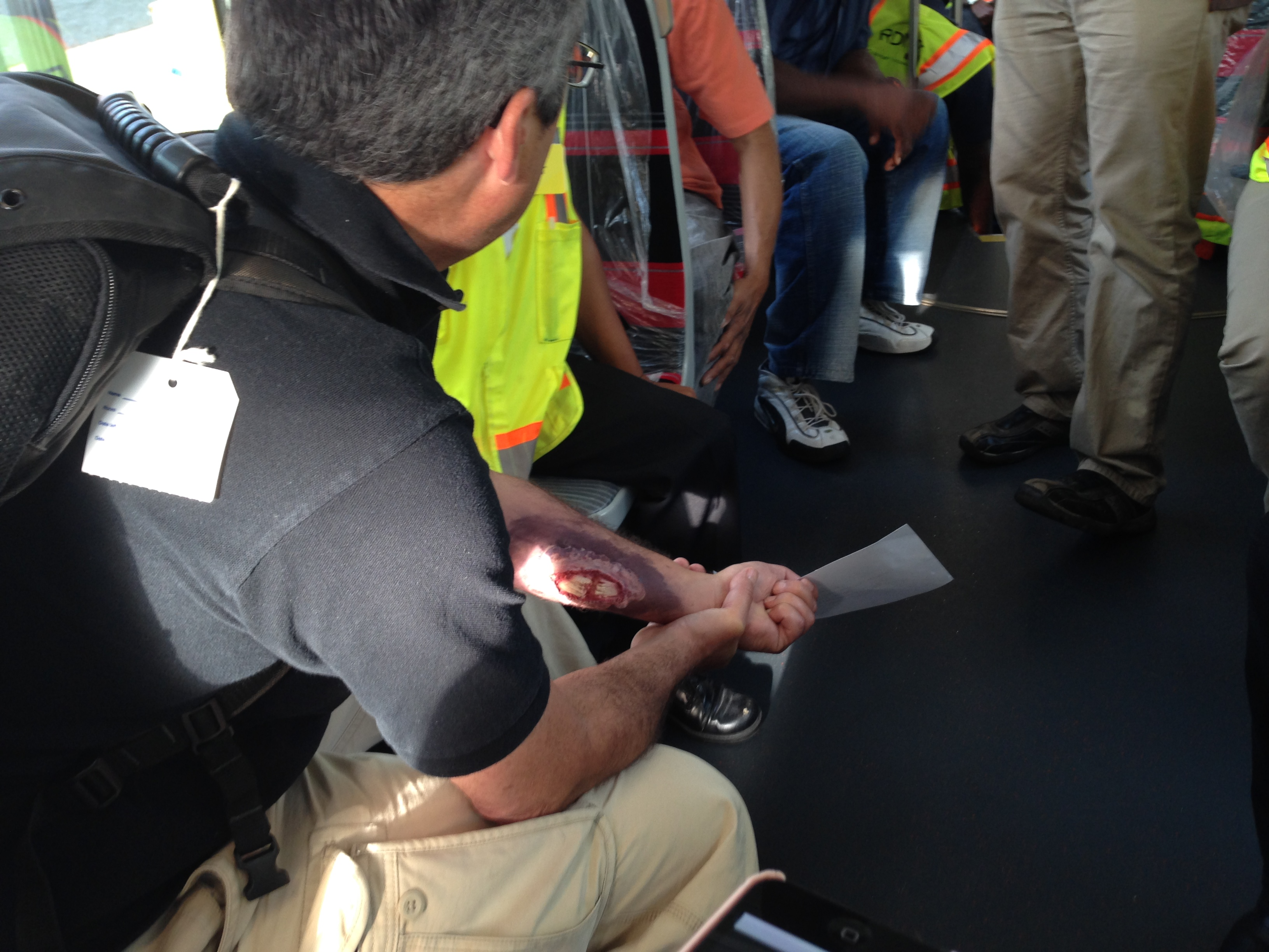 District streetcar derailed Sunday for emergency drill
