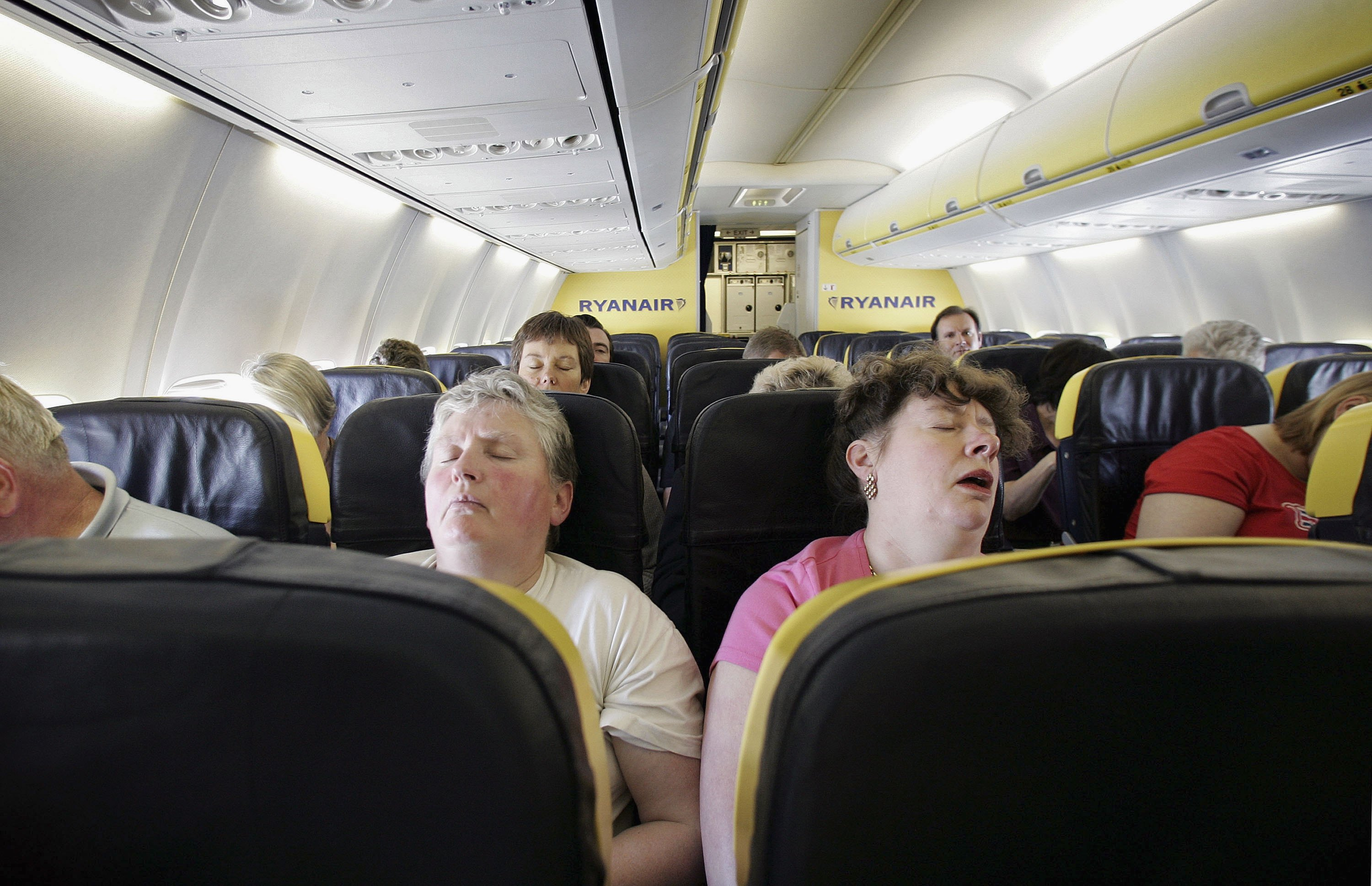 Does device infringe on passengers' right to recline?