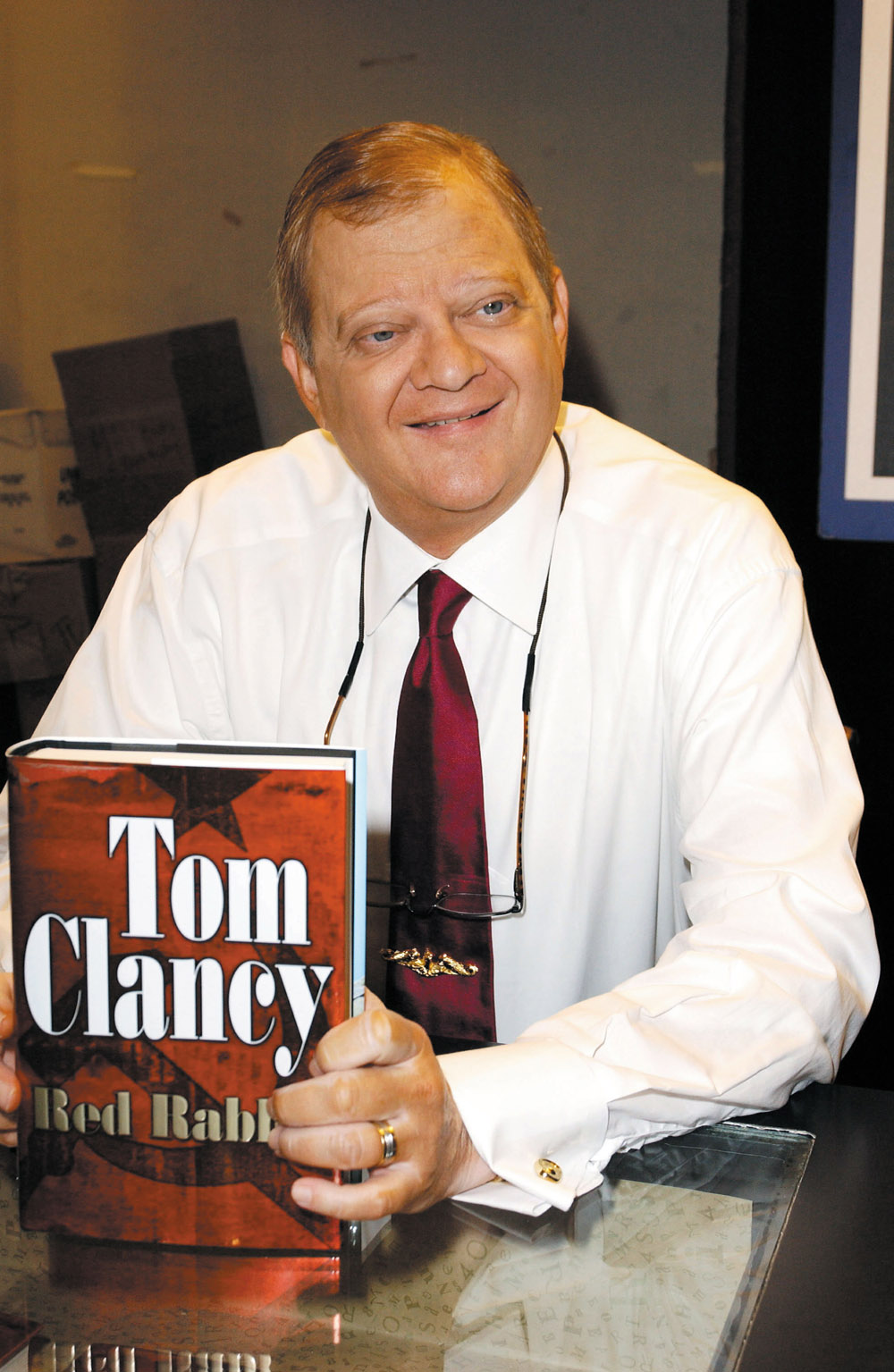 Boys charged with setting fire in Tom Clancy's home