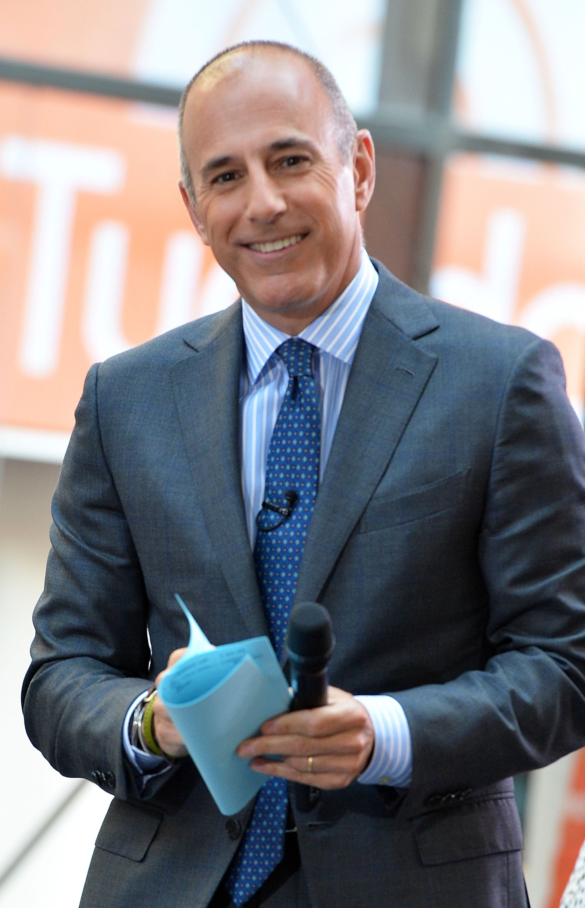 Report: NBC pays for Matt Lauer to take helicopter to 'Today'