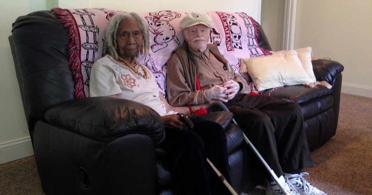 Marriage of newlyweds, ages 96 and 95, questioned