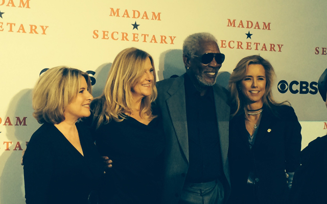 'Madam Secretary' stars hit red carpet for DC premiere