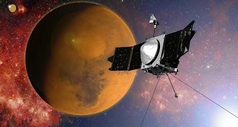 Maven to enter Mars orbit Sunday night