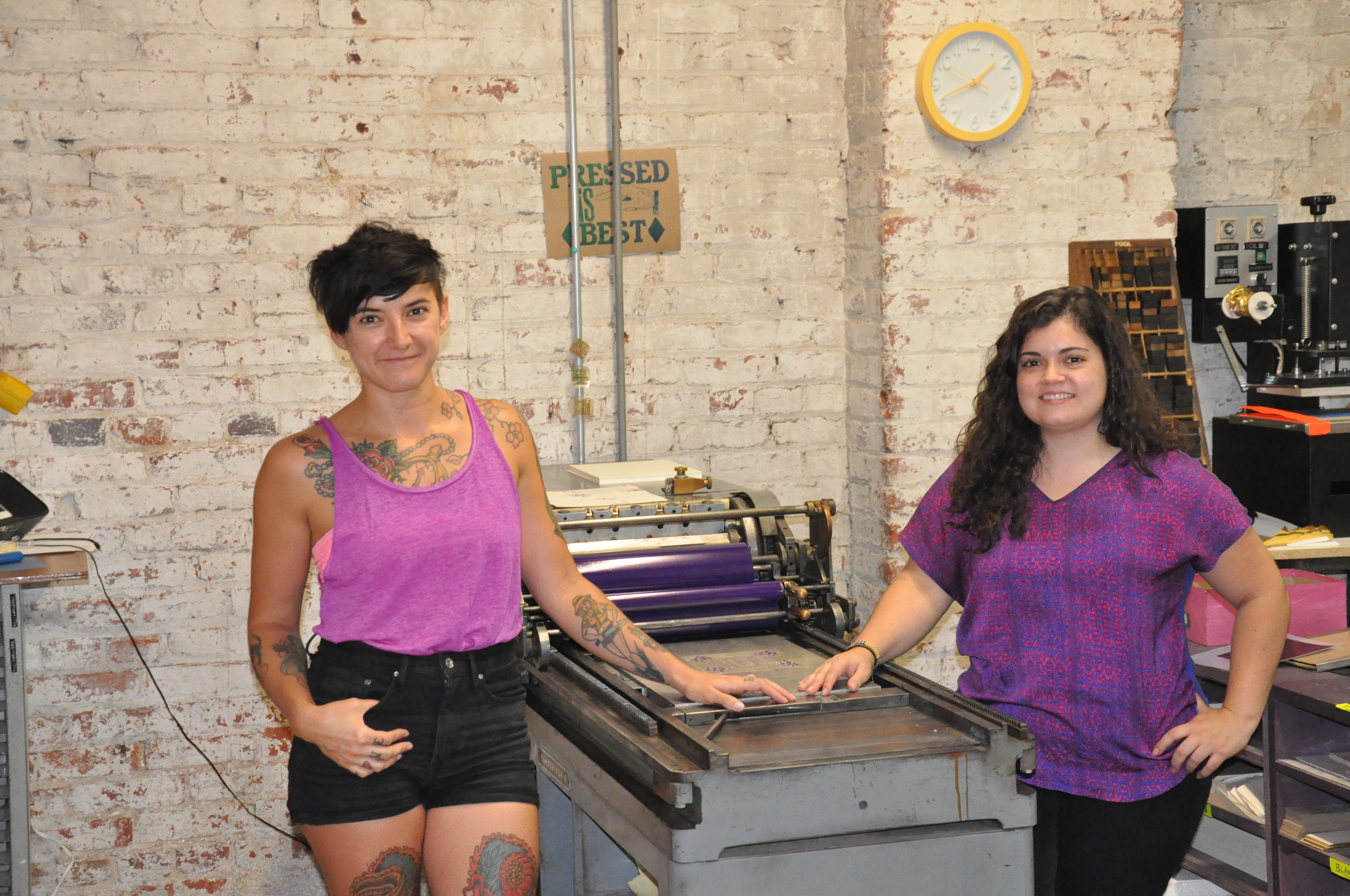 Typecase Industries creates new designs with historic machinery