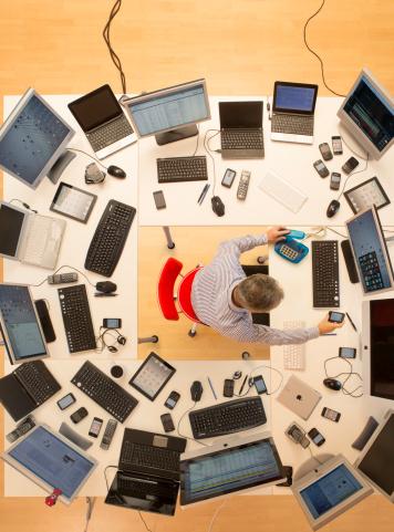 Settle down — multitasking can shrink your brain