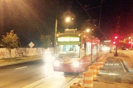 D.C. streetcars begin test runs