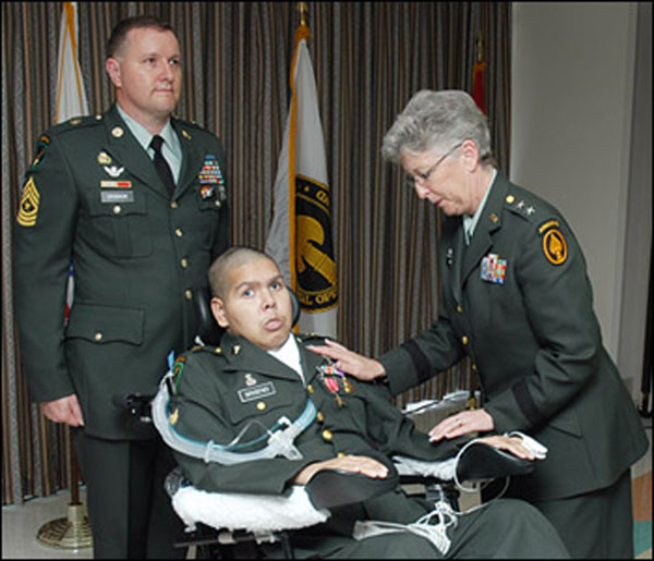 Manassas Park wounded warrior receives specially adapted home