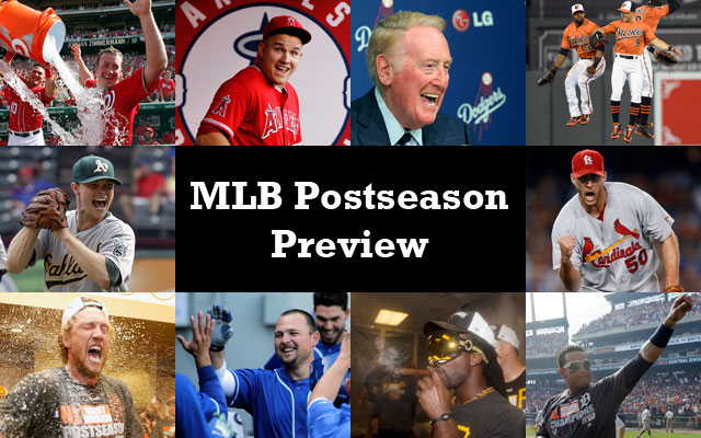 Your complete MLB Postseason fan preview