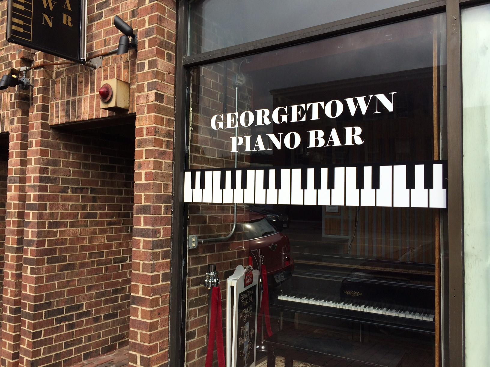 An inside look at Georgetown's new piano bar