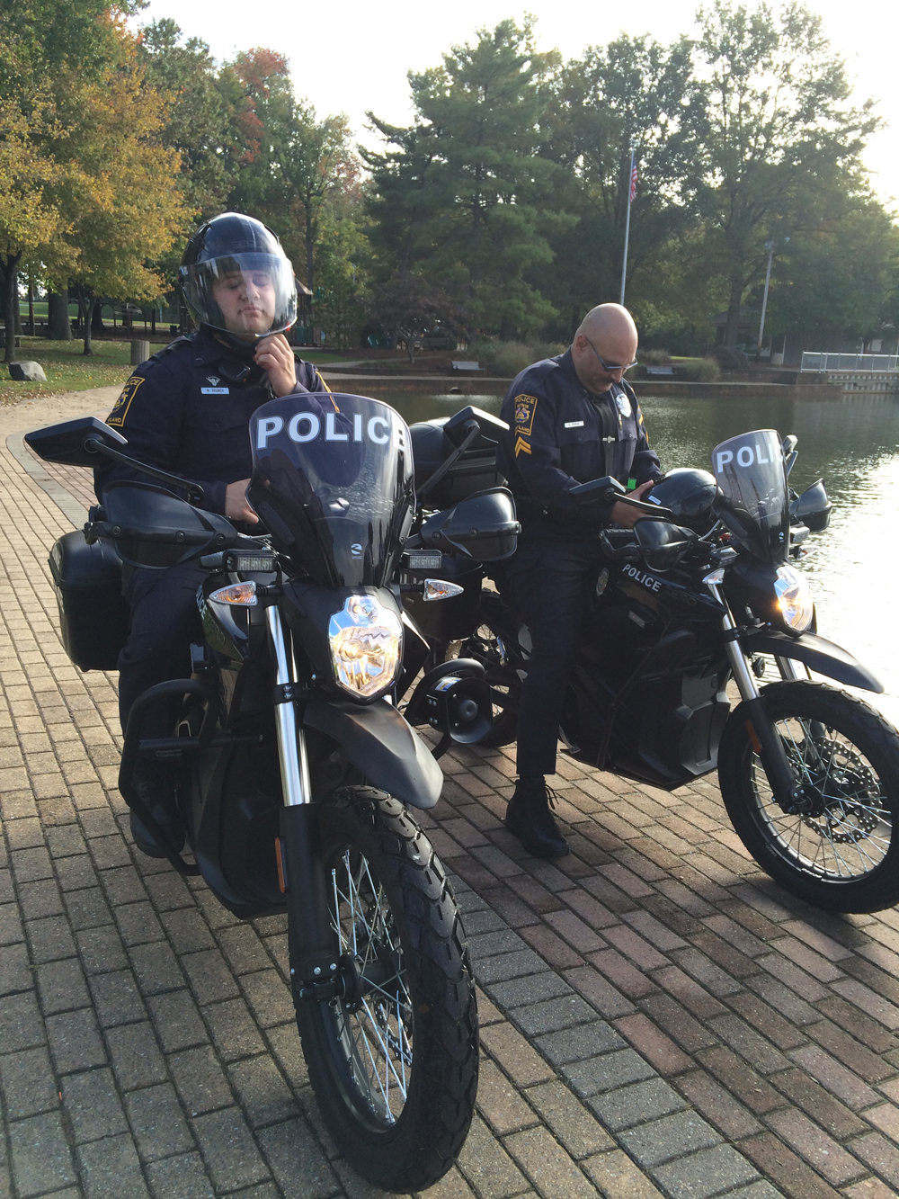 Md. police dept. adds nearly silent motorbikes to fleet