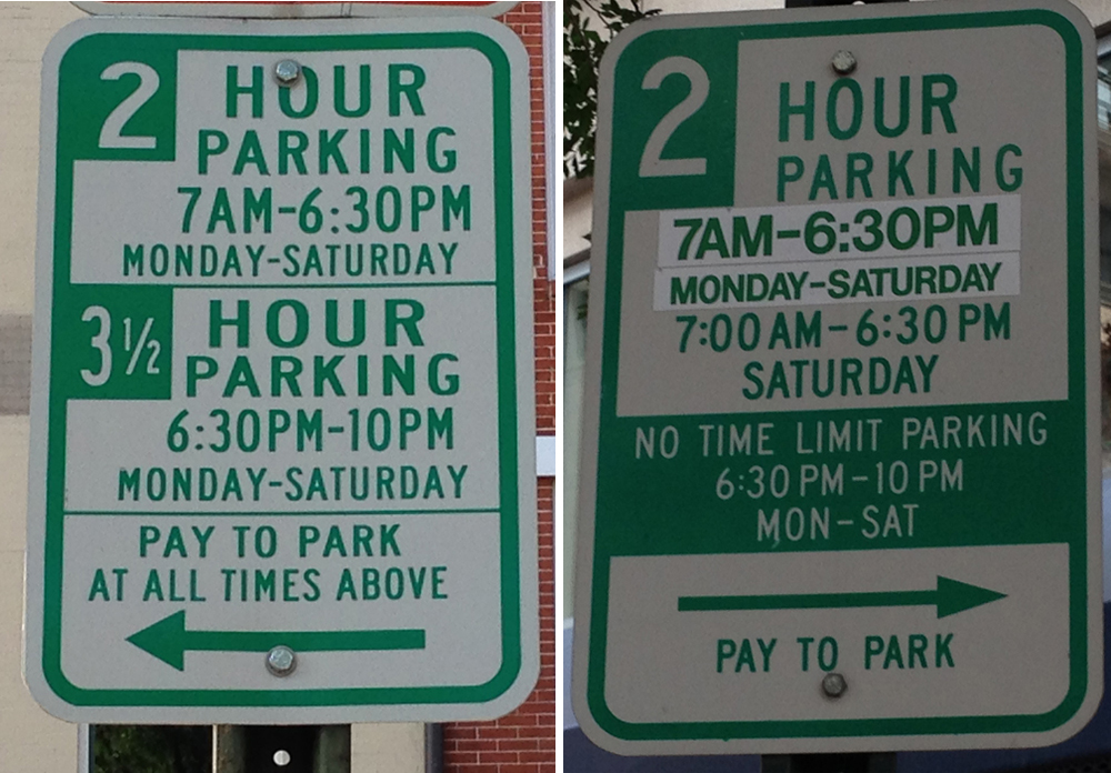 Confusing Parking Signs Net Thousands Of Tickets Against Drivers