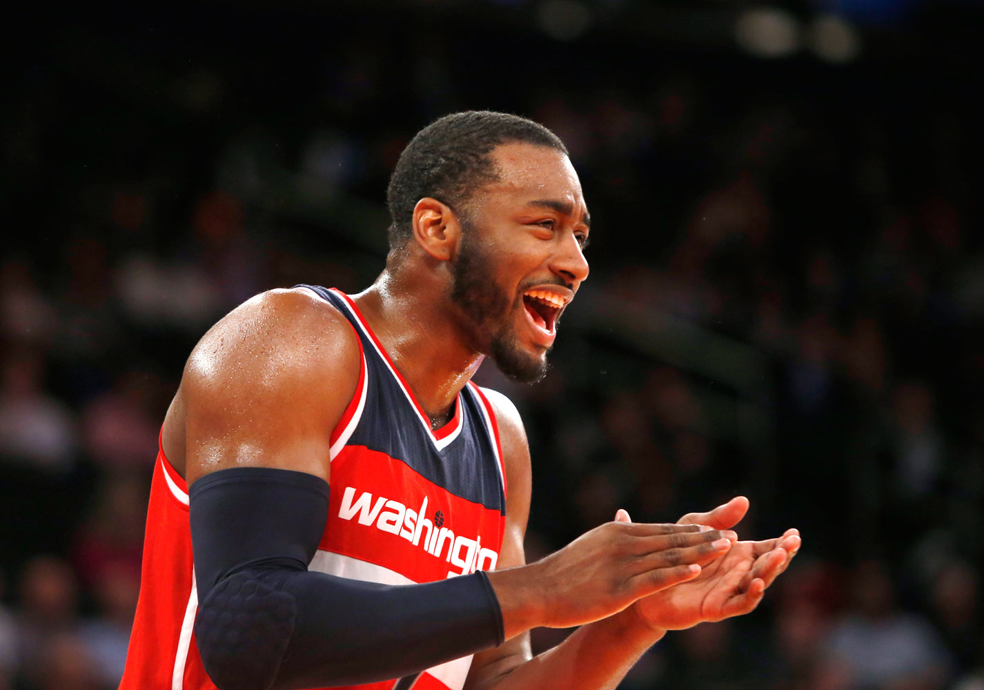 Commitment? Please. John Wall's ready to mingle