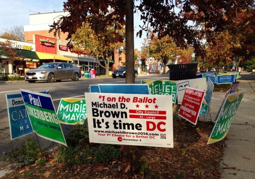 Campaign signs must come down
