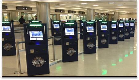 Passport kiosks to speed customs at Dulles Airport