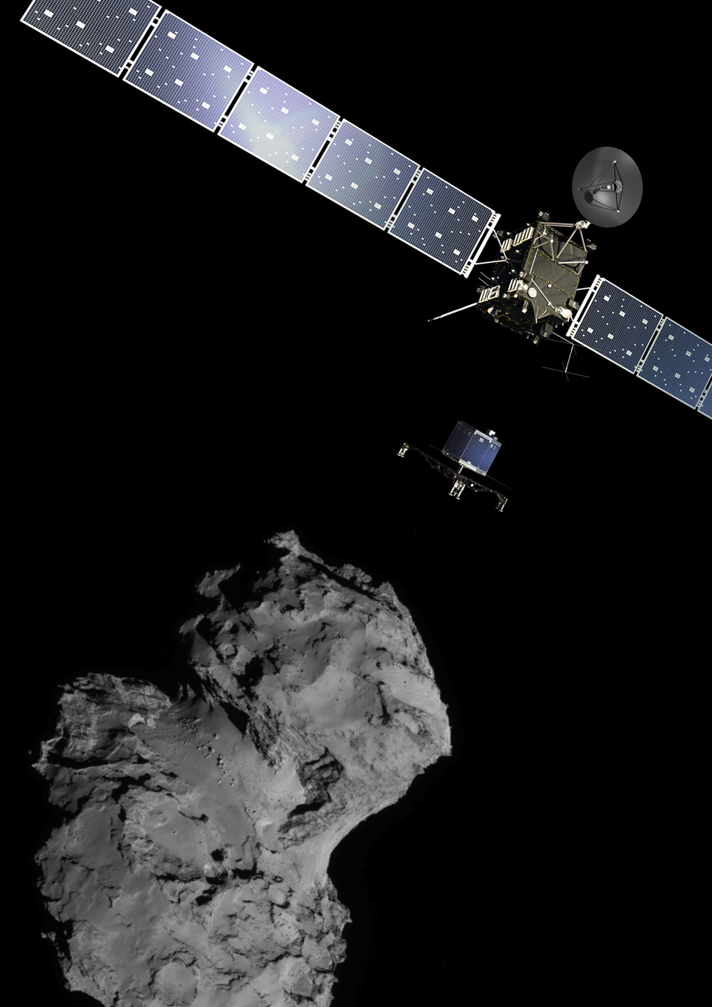 Watch as the European Space Agency tries to land on a comet