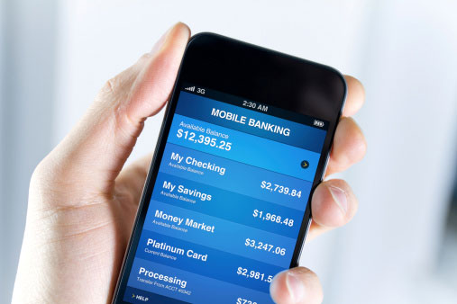 Survey: Few customers rely on mobile banking
