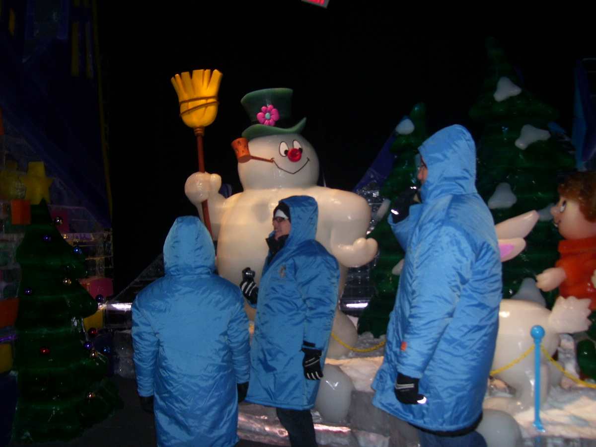 Frosty the Snowman opens at National Harbor