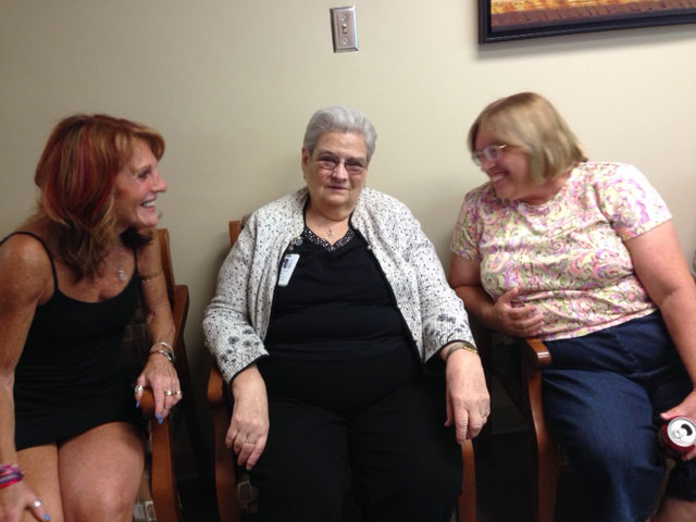 Those who care for loved ones with Alzheimer's support each other