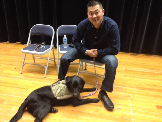 From pups to healers: Companions change wounded warriors' lives
