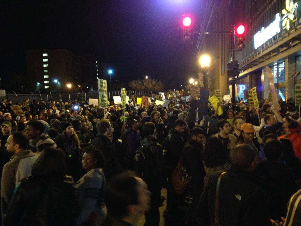 2nd night of Ferguson protests in D.C.