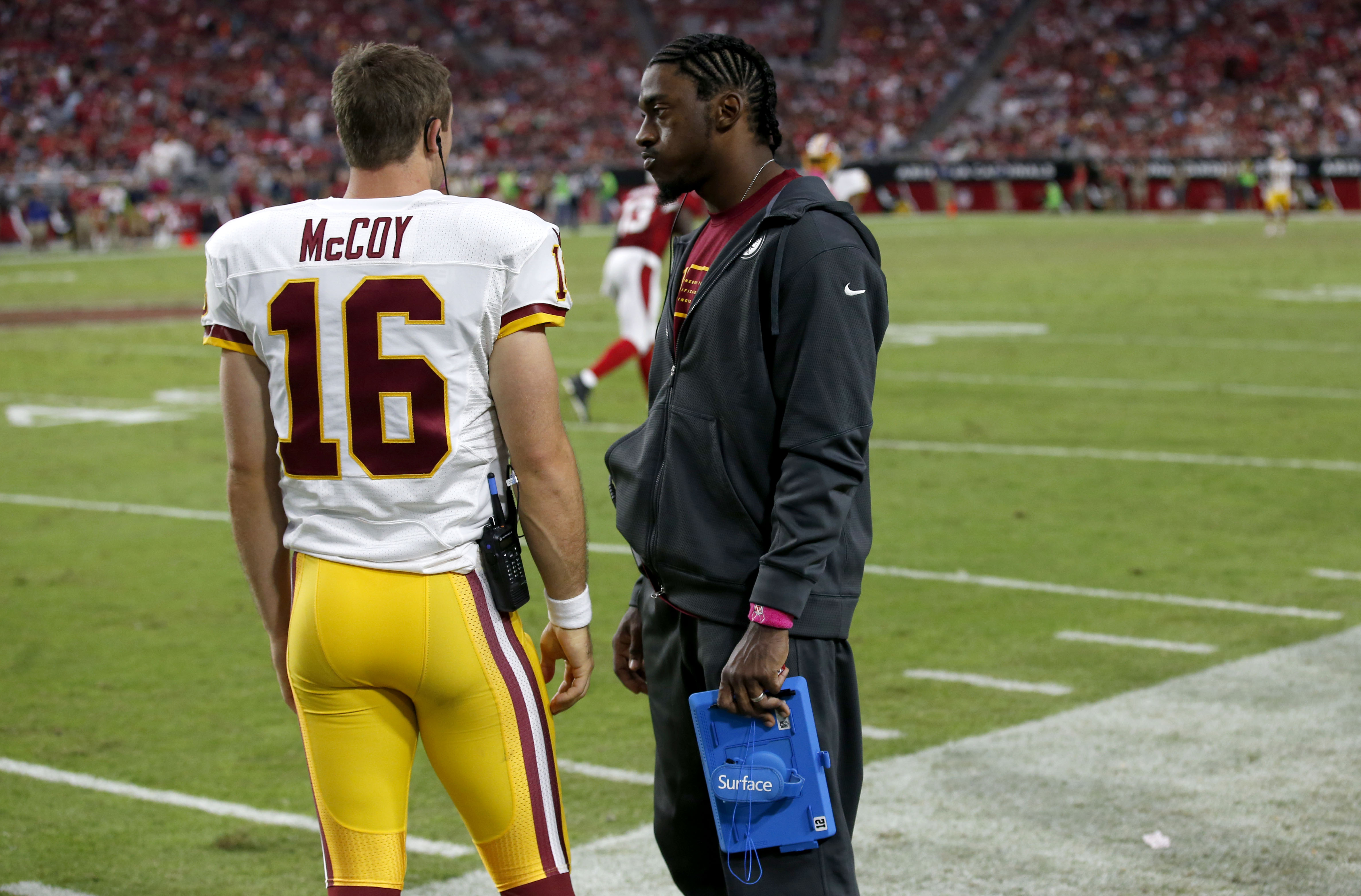 Column: Will Robert Griffin III play another game in Washington?