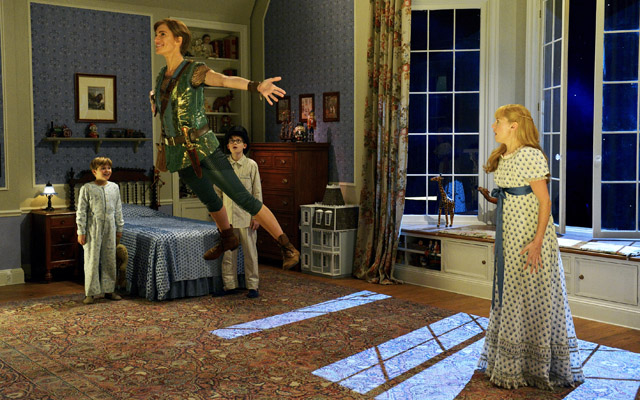 Crowing like a peacock: NBC to air 'Peter Pan Live!'
