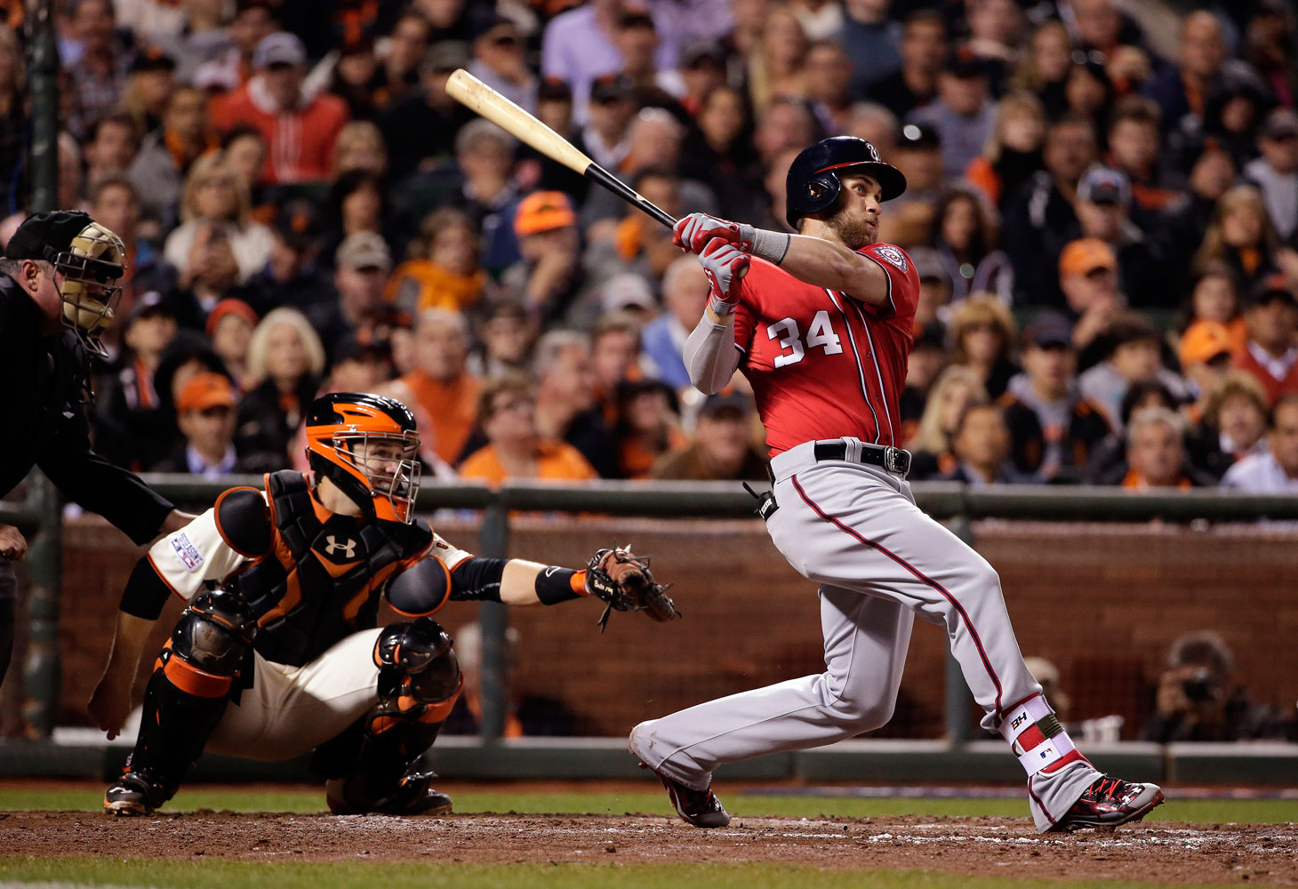 The Nationals' Bryce Harper quandary