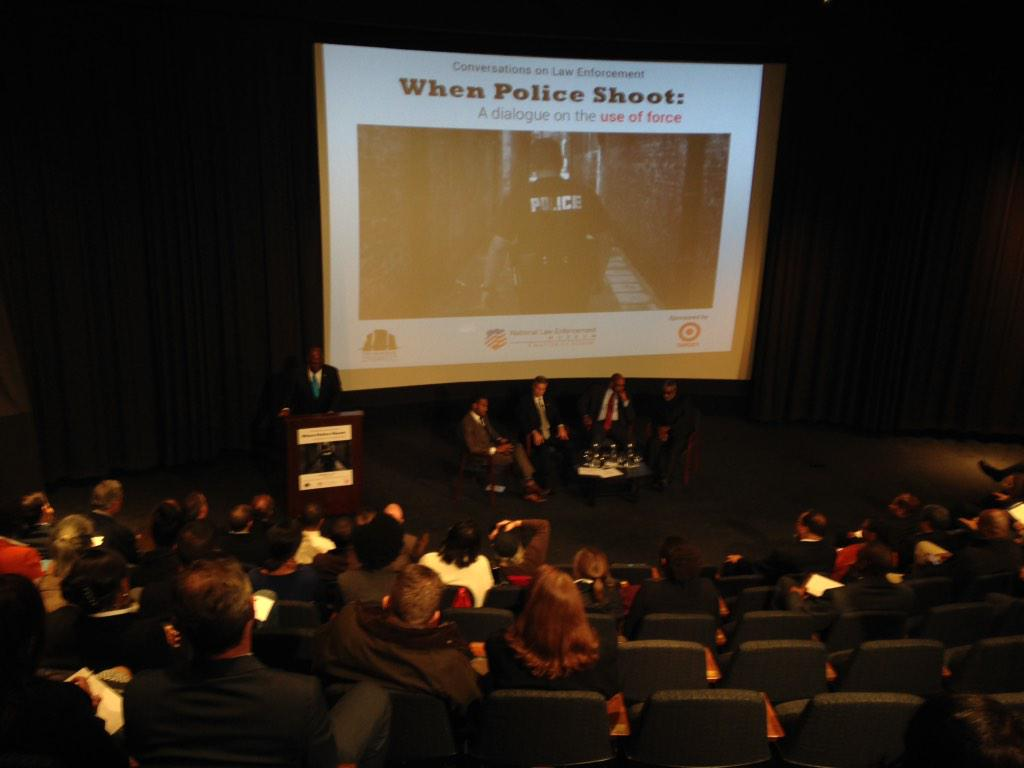 Public-safety pros talk about police use of force
