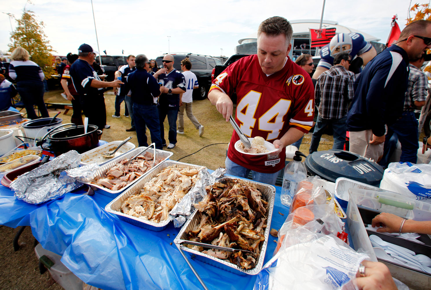 Will healthy tailgating fly with sports fans?