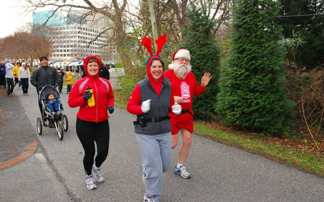 Join Santa Claus for a cause in Jolly Fat Man's Run