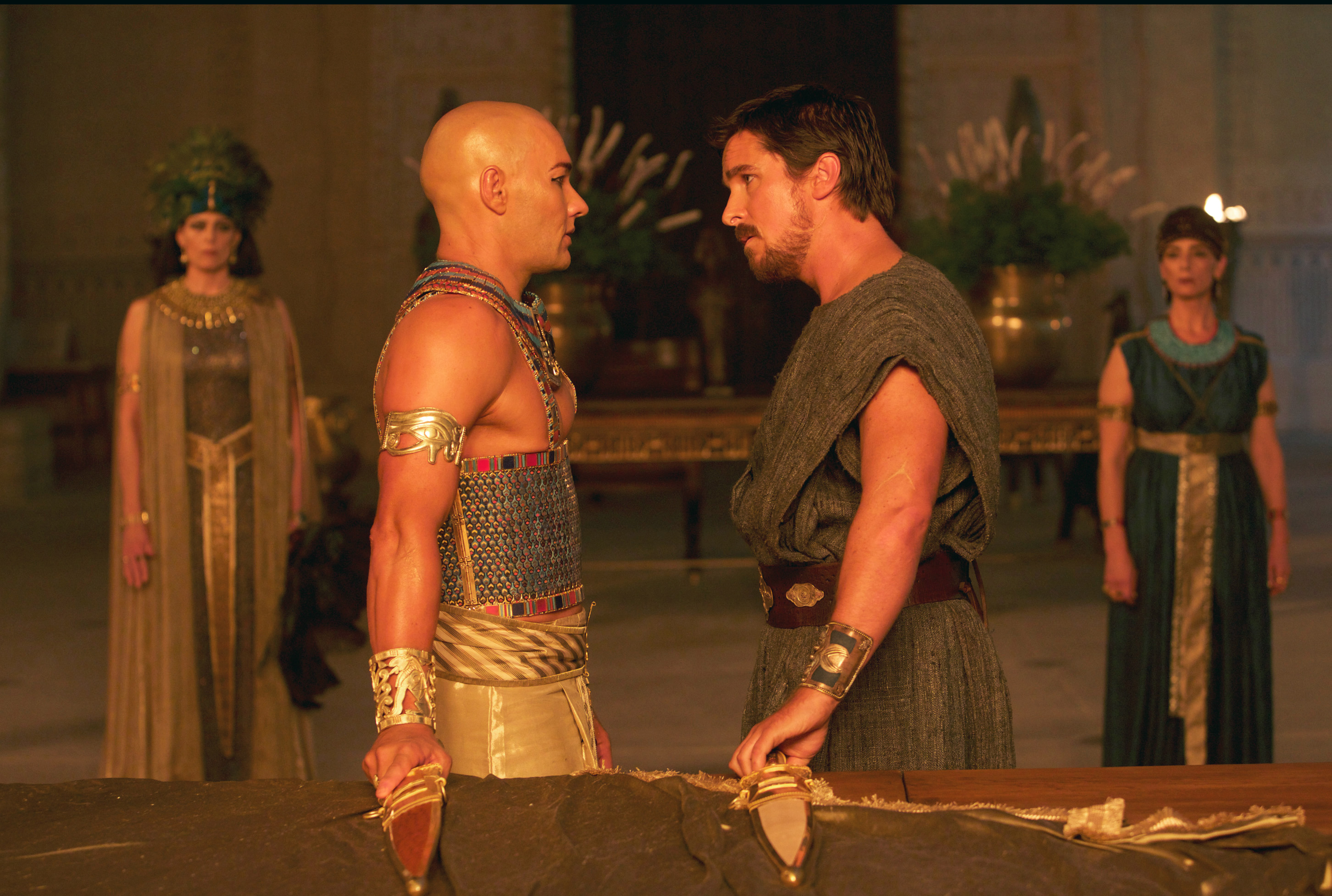 Moses returns to silver screen in Ridley Scott's 'Exodus'